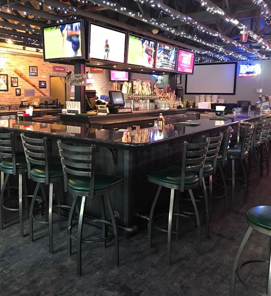 Holiday Cheer At Blue Moon Bar Grill >> Joe S Dugout Sports Bar Cemeno S Pizza Joliet Restaurant